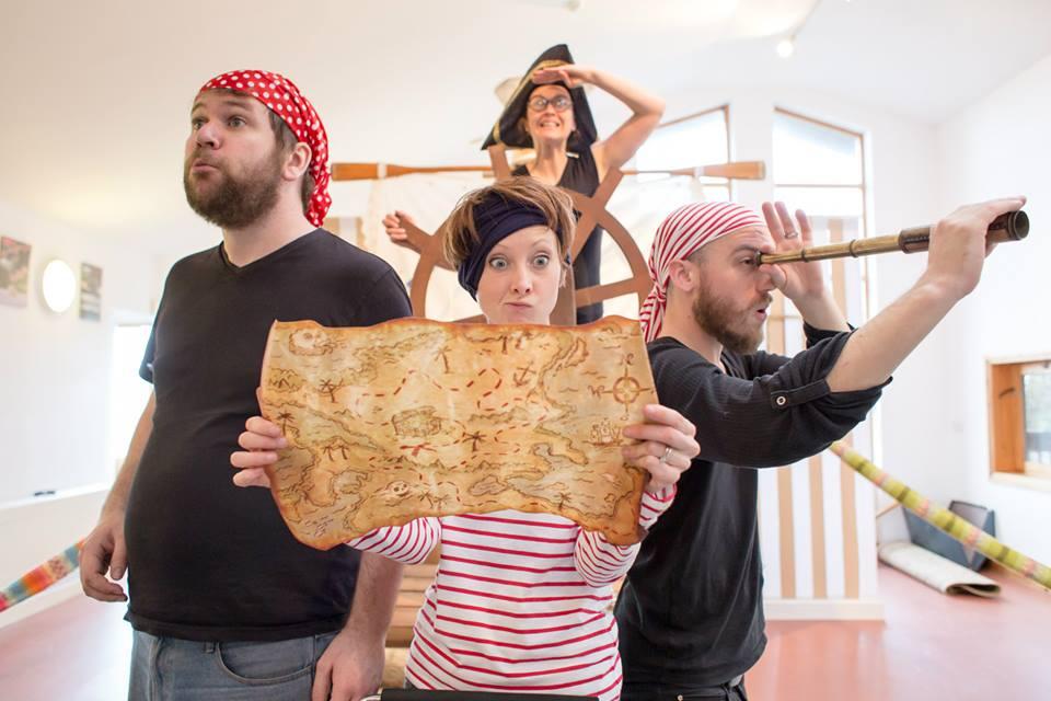 Pirate Gran Rehearsals 2