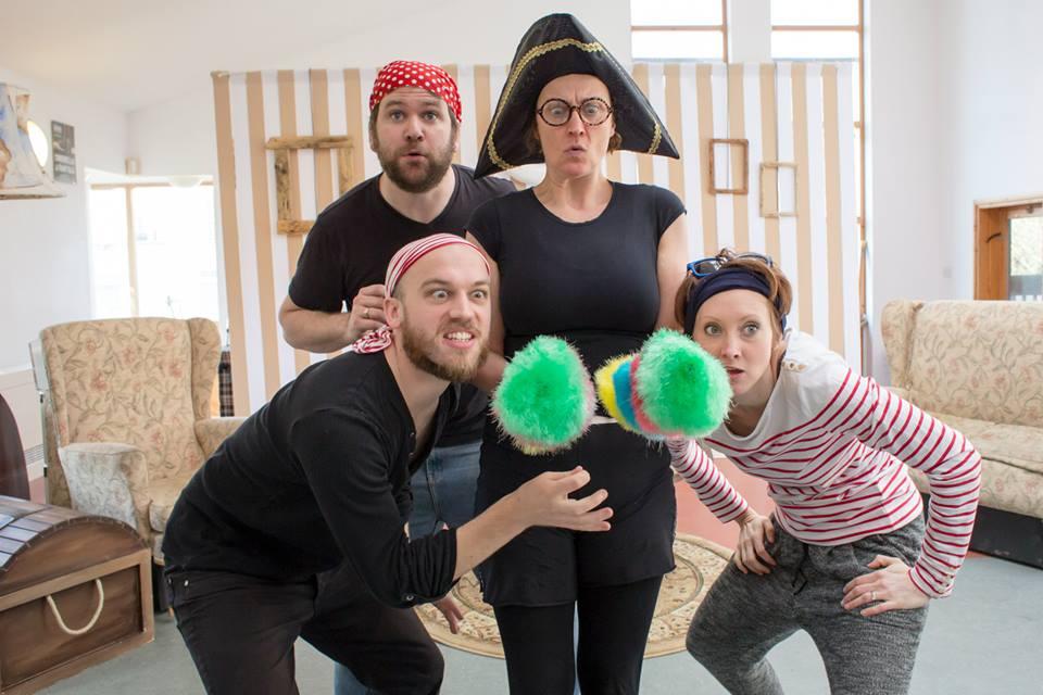 Pirate Gran Rehearsals